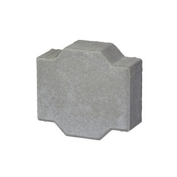 Vabi steen klaver grijs