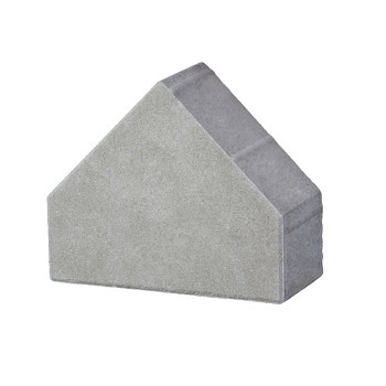 Vabi steen bisschopsmuts grijs