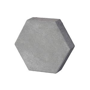 Vabi steen zeskant grijs