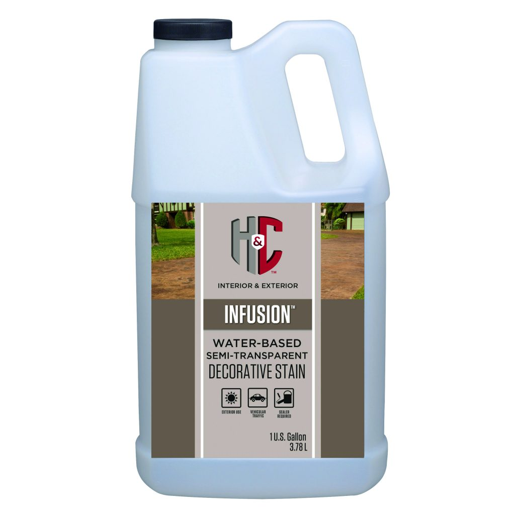 H Amp C Infusion Decorative Stain
